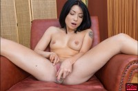 VR Porn Asian Hottie Tries Out Her New Sex Toys